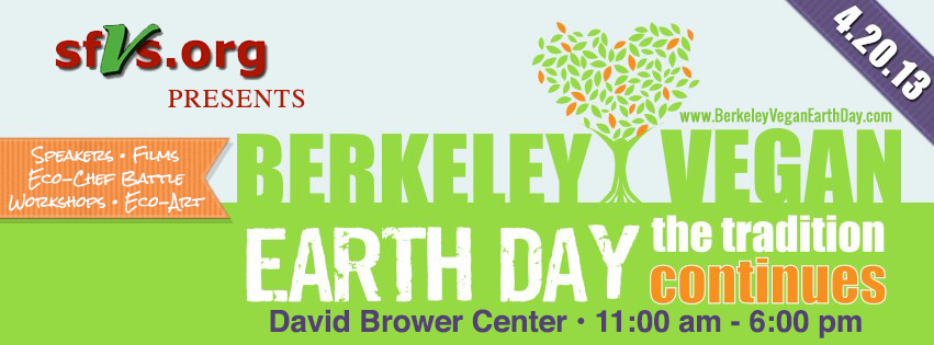 Berkeley Vegan Earth Day 2013
